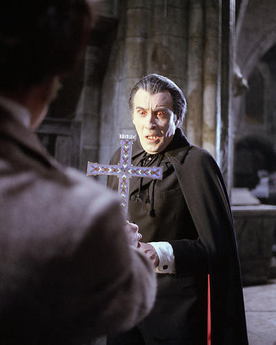 This is an image of 277263 Christopher Lee Photograph & Poster