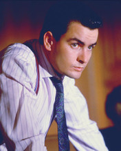 This is an image of 277986 Charlie Sheen Photograph & Poster