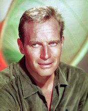 This is an image of 278149 Charlton Heston Photograph & Poster