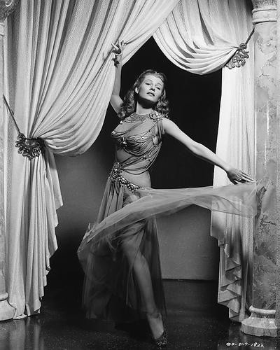 This is an image of 189016 Rita Hayworth Photograph & Poster