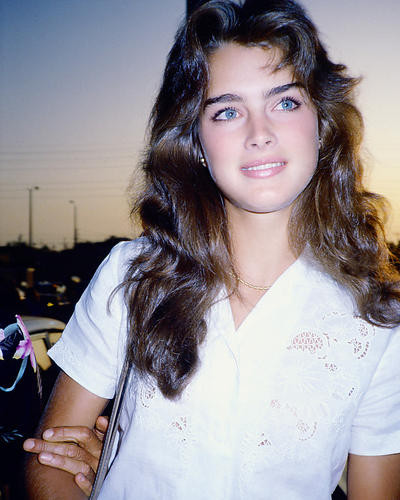 This is an image of 278254 Brooke Shields Photograph & Poster
