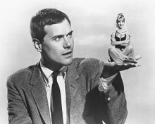 This is an image of 170247 Barbara Eden & Larry Hagman Photograph & Poster
