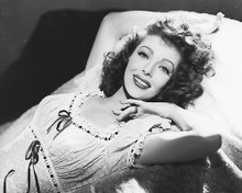 This is an image of 173079 Loretta Young Photograph & Poster