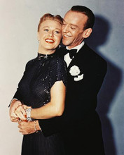 This is an image of 214372 Fred Astaire & Ginger Rogers Photograph & Poster