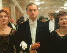 This is an image of 228543 Leonardo Dicaprio & Kate Winslet Photograph & Poster