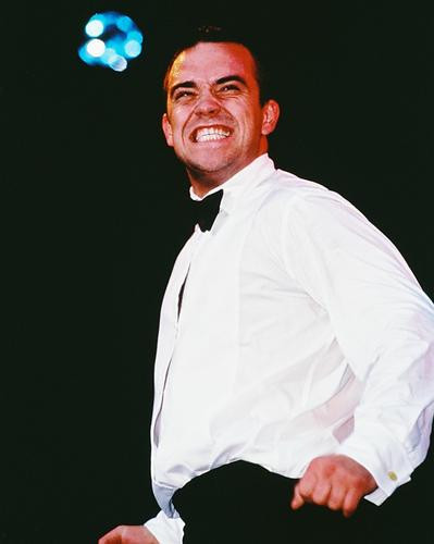 This is an image of 233787 Robbie Williams Photograph & Poster