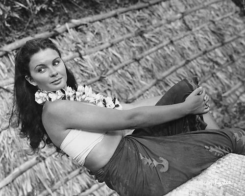 This is an image of 173520 Jean Simmons Photograph & Poster