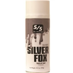 Silver Fox Touch-Up is the final touch-up for covering adhesives and leg builders on grey and silver hair, as found on Charolais influenced cattle. Silver Fox Touch-Up provides excellent coverage, texture and color dimension to enhance your animal's natural hair color. Select single or case and specify quantity below. ALL AEROSOLS MUST BE SHIPPED GROUND.THEY CANNOT GO NEXT DAY, SECOND DAY, OR THIRD DAY AIR.  THEY CANNOT BE SHIPPED INTERNATIONALLY WITH THE U.S. POSTAL SERVICE.