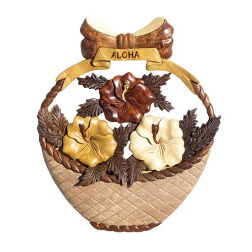Hibiscus Flower Basket