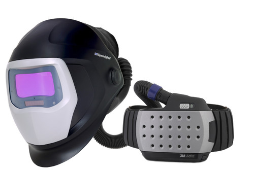 With its smart, compact design, the award-winning 3M Adflo Powered Air Respirator is specially designed to meet your welding needs. Its continuous airflow provides filtered air that takes much of the heat and sweat out of welding. By using the Adflo respirator, you get both increased protection and comfort all day long.
