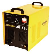The Thermamax Cut 120-i HF Plasma Cutter is capable of cutting up to 35mm steels and 20mm stainless.