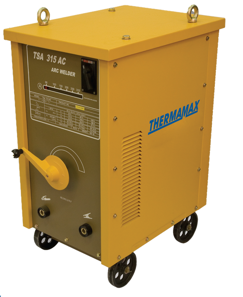 The Thermamax TSA 315 Arc Welder is a transformer based welder, ideal for the manufacturing and mining industry.