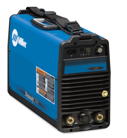 Miller Dynasty® 200SD Series offers maximum flexibility - Miller Electric combines advanced inverter technology with Auto-Line™ technology, offering the most flexible AC/DC TIG/Stick power supply in the welding industry.