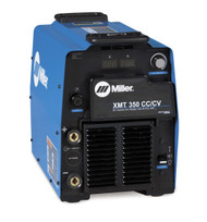The Miller XMT 350 MIG Runner is a powerful multi-process machine. With this welding machine you are able to do MIG, Pulsed MIG, TIG, Arc, Flux Cored, and Air Carbon Arc (gouging).