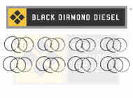 Black Diamond 03-10 Ford 6.0 Powerstroke .040 Oversize Ring Set (8)