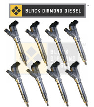 Black Diamond 04.5-05 Duramax 6.6 LLY Stock Replacment Injector Set (8)