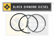 Black Diamond 03-10 Ford 6.0 Powerstroke .020 Oversize Cylinder Ring Set