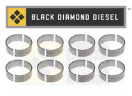 Black Diamond 07.5-10 Duramax 6.6 LMM Standard Connecting Rod Bearing Set (8)