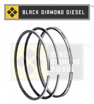 Black Diamond 07.5-10 Duramax 6.6 LMM .040 Oversize Piston Ring Set (1)