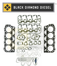 Black Diamond 07.5-10 Duramax 6.6 LMM Complete Engine Gasket Kit