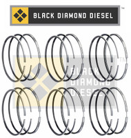 Black Diamond 04.5-07 Dodge 5.9 Cummins .020 Oversize Piston Ring Set