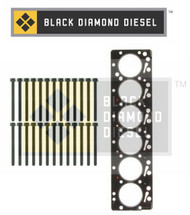 Black Diamond 03-04 Dodge 5.9 Cummins Head Gasket with Head Bolts Kit