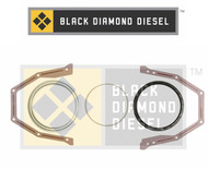 Black Diamond 07.5-15 Dodge 6.7 Cummins Rear Main Seal Set