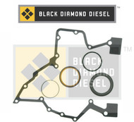 Black Diamond 07.5-15 Dodge 6.7 Cummins Timing Cover Seal Set