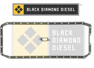 Black Diamond 07.5-15 Dodge 6.7 Cummins Oil Pan Gasket Set
