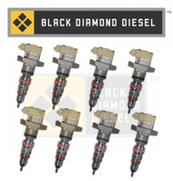 Black Diamond Early 99 Ford 7.3 Powerstroke Replacement Set of AB Injectors