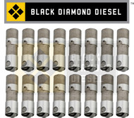 Black Diamond 03-10 Ford 6.0 Powerstroke Roller Lifter Set (16)