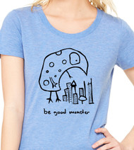 Be Good Monster - Womens Tee