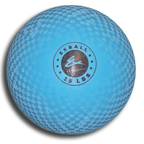 Exertools 15 pound Soft Shell Exball (Medicine Ball)