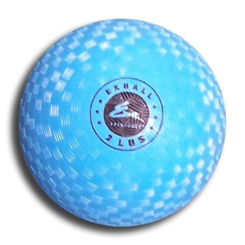 Exertools 2 pound Soft Shell Exball (Medicine Ball)