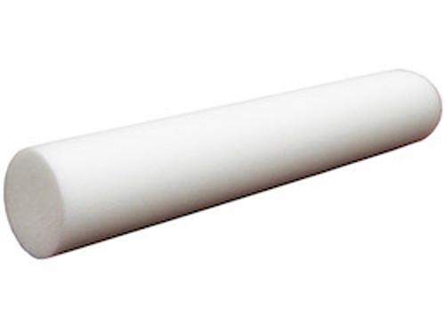 """6"""" x 36"""" Full Foam Roller  - White"""