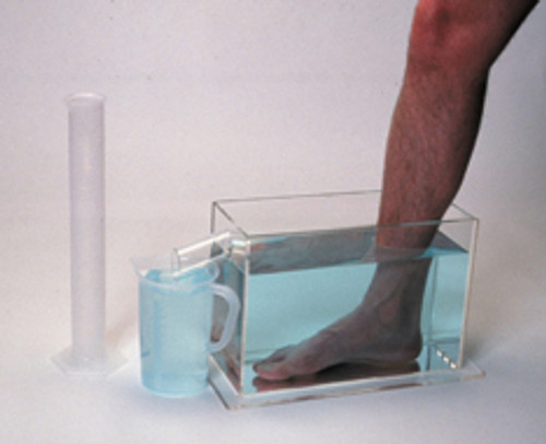 Baseline volumetric measuring device, foot set, 5x13x9 inches