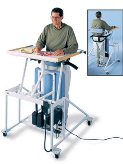 Hausmann Hi-Lo Econo-Line Stand-In Table with Electric Patient Lift
