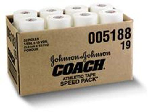 "Coach Athletic Tape - 1.5"" x 15yds - 32 Rolls"