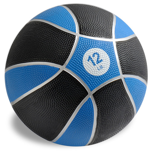 Exertools 12 pound Hard Shell Exball (Medicine Ball)