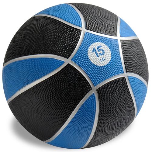 Exertools 15 pound Hard Shell Exball (Medicine Ball)