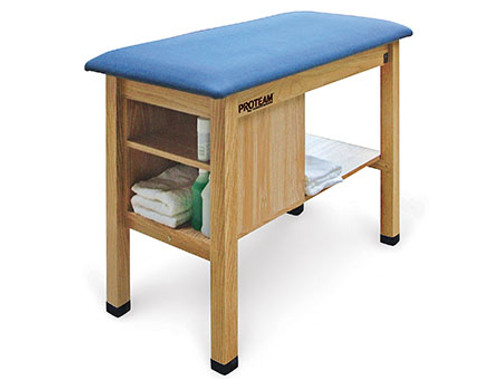 ProTeam H-Brace Taping Table with Cabinet