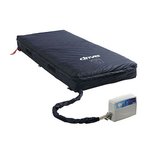 """Med-Aire Assure 5"""" Air + 3"""" Foam Base Alternating Pressure and Low Air Loss Mattress System"""