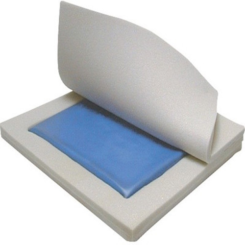 "Drive Medical Gel ""E"" Skin Protection 3"" Gel/Foam Wheelchair Cushion"