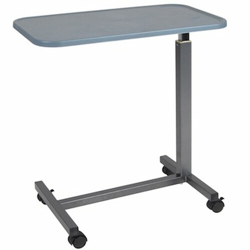 Drive Medical Overbed Table - Plastic Top
