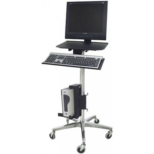 Omnimed ERGO Computer Transport Stand