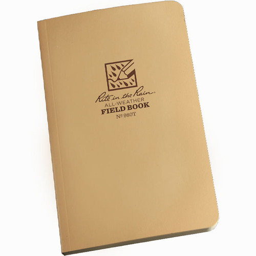 980T Tactical Field Notebook Tan