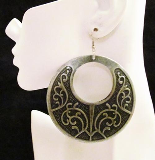 Round Earrings-12751