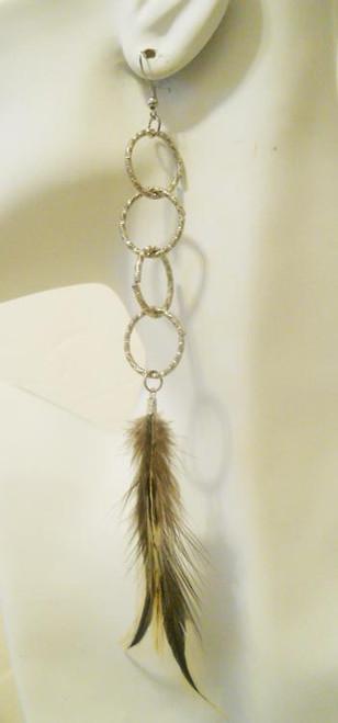 Feather Earrings-1870