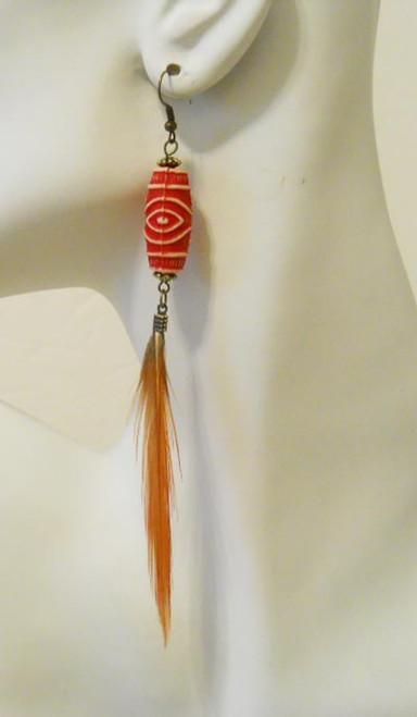Feather Earrings-1872