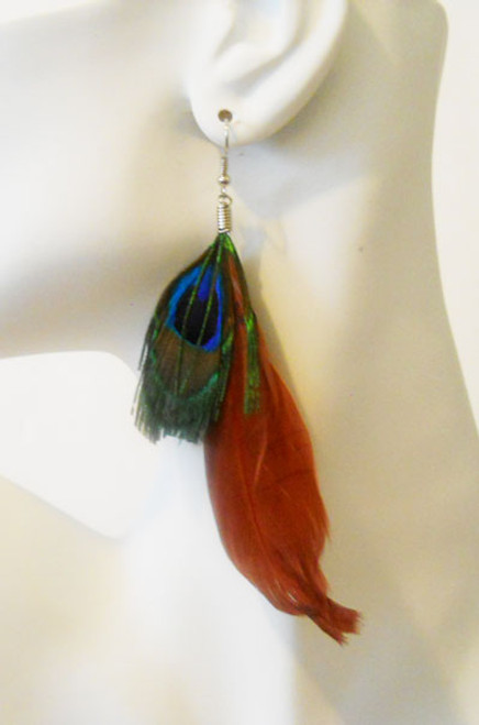 Feather Earrings-2764